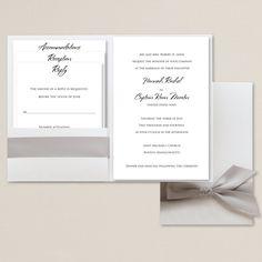 Love Story Wedding Invitation Wedding Invitation | #exclusivelyweddings | #graywedding