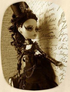 Venize OOAK Custom Repaint Monster High Doll by Del Molto Amore   eBay