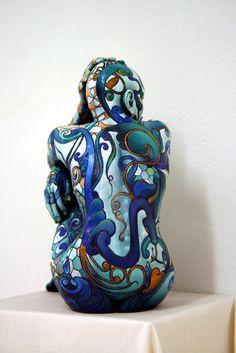 SWITCH medium: hand painted bronze dimensions cm: 46,5 X 40 X 23 year: 2013…