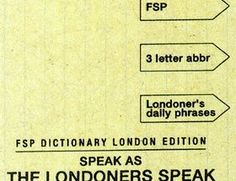 FSP Dictionary London Edition