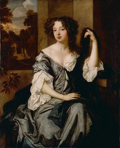 Lely, Peter (1618-1680) - 1673c. Portrait of Louise de Keroualle, Duchess of Portsmouth (The Getty Museum, Los Angeles, CA.), via Flickr.