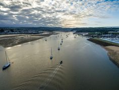 Morning Conwy - Phantom 3 over the River Conwy in North Wales Phantom 3, Over The River, North Wales, Beach, Water, Outdoor, Gripe Water, Outdoors, The Beach