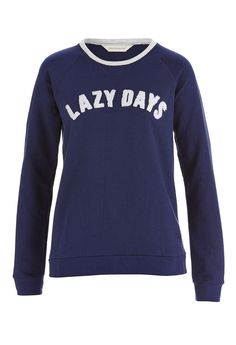 a2b6b173aa9d Lazy Days Sweater Colour  Navy Details Perfect for lazing around! This  women s lazy days