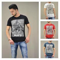 Dope wars!!! Ανδρική μπλούζα Dope! Διαθέσιμη σε: Λευκό, Πετρόλ, Μαύρο, Κόκκινο.  #metaldeluxe #starwars #tshirt #menclothes #menfashion #newarrivals #style