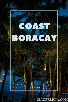 The most amazing hotel I have ever stayed at!  If you are looking for accommodation in Boracay, Philippines... the Coast hotel is the place to go!  It was beach front and included free breakfast!