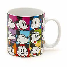 Disney Micky Maus - Becher im Pop-Art-Stil