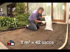 ¿Cómo hacer un suelo de ladrillo? - YouTube