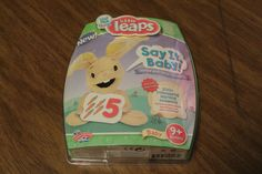 Leap Frog Baby Little Leaps Say It Baby Verbal & Vocal Discovery 9+ Months New  #LeapFrog