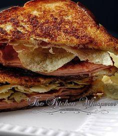 Grandma's Pittsburgh Fried Bologna Sandwich