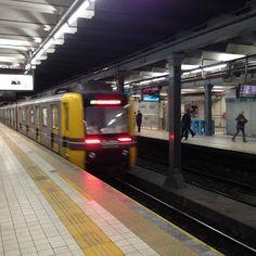 Subte Línea A . Buenos Aires.