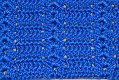 Punto Fantasía N° 46 en tejido crochet tutorial paso a paso.