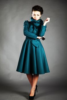 oh, the color! not an every day coat but if i had somewhere fancy to go or for special occasions, i love this. beatrice  jacket (autumn lining or winter lining).