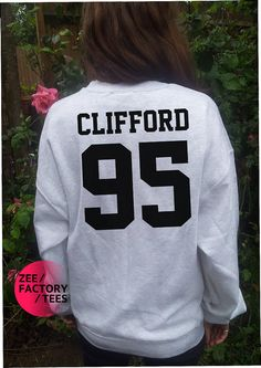 "Michael ""Clifford 95"" Sweatshirt 5 Second of Summer 5sos michael ashton callum ashton boy band t shirt pop harry styles 1d bieber zayn malik on Etsy, $25.90"