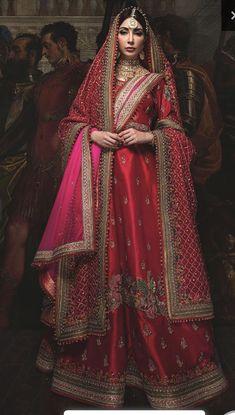 New pakistani bridal dresses Pakistani Wedding Outfits, Indian Bridal Lehenga, Pakistani Wedding Dresses, Bridal Outfits, Indian Dresses, Indian Outfits, Bridal Gowns, Wedding Lehanga, Wedding Sarees