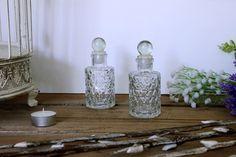 Μπουκάλι Γυάλινο Σκαλιστό GI164931 Jar, Bottle, Home Decor, Homemade Home Decor, Flask, Interior Design, Home Interiors, Decoration Home, Jars