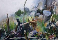Galerie - Woodland - Arbeiten auf Leinwand