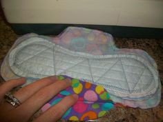 sew your own reusable pads