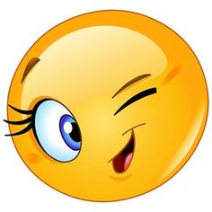 Illustration about Design of a female emoticon winking. Illustration of eyelashes, character, emoji - 41014844 Smiley Emoji, Smiley Faces, Big Smiley Face, Funny Emoticons, Funny Emoji, Symbols Emoticons, Emoji Images, Emoji Pictures, Emoji Love