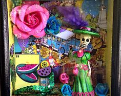 day of the dead shrine – Etsy make one to remember me, flowers, antiques, victorian stuff, pic of bagby, oregon coast, tree house