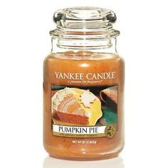 Yankee Candle Pumpkin Pie - I'm Burning this now. I usually only burn spiced pumpkin and in have a ton of that scent so I'm switching it up
