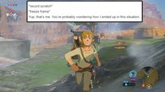 Legend of Zelda: Breath of the Wild; Link