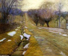Le comté de Bucks hiver de Edward Willis Redfield (1869-1965, United States)