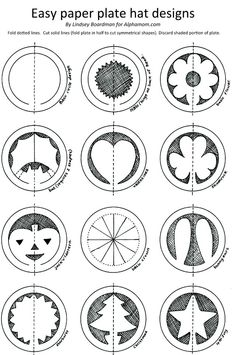 Paper plate hats- super fun and the kids love them. I made the star one for math… – Handwerk und Basteln Paper Plate Hats, Paper Plates, Toddler Crafts, Preschool Crafts, Hat Crafts, Paper Crafts, Diy For Kids, Crafts For Kids, Ideias Diy