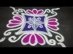 rangoli design - YouTube