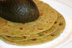 Avocado Parathas ♦ The creaminess of the Avocado in the paratha is what keeps the paratha soft and gives them that wonderful buttery texture and flavor. These are great for journeys and to make-ahead and save for later.