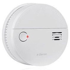 X-Sense Détecteur de Fumée et de Monoxyde de Carbone CO 2-en-1 DS51 Alarme Avertisseur Certifié CE