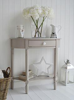 Half moon table | Home Decor Inspiration | Pinterest | Half moon ...