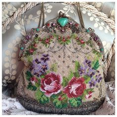 SOLD Most beautiful antique Victorian micro by Theappleofhereye