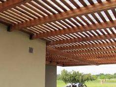Resultado de imagen para chapa transparente pergola Ideas Para, Gazebo, Outdoor Structures, See Through, Sun, Sheet Metal, Gardens, Architecture, Home