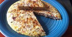 Fabulosa receta para Tortilla de atún. Muy sencilla, fácil y económica