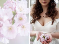 It´s spring - it´s supposed to be a little bit kitschy :) Magdalena Schneider MUA: Ferman Ab website Portrait Photographers, Cherry Blossom, Contemporary, Wedding Dresses, Spring, Beautiful, Fashion, Bride Dresses, Moda