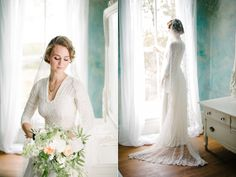 Snippets, Whispers & Ribbons #53  Charlottesville Vintage-Inspired Wedding
