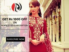 Subscribe to our newsletter and get Rs 1000 off/- Visit now nallucollection.com