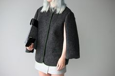 Love Aesthetics - 'Thrown over shoulder' jacket
