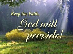 Believers and nonbelievers are upset with the results of the 2016 election. Regardless of what happens in the future, God says He will provide all we need to survive.