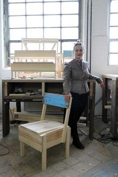 Sasha Waltz als Botschafterin für CUCULA // Sasha Waltz as Ambassador for CUCULA  Zu Besuch in unserer Werkstatt // Visiting our workshop …