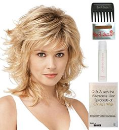 Bundle  5 items Tress by Raquel Welch Wig 15 Page Christys Wigs Q  A Booklet Wig Shampoo Wig Cap  Wide Tooth Comb Color Selected SS1488 >>> Click image for more details.Note:It is affiliate link to Amazon.