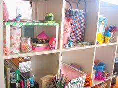 girly desk kawaii