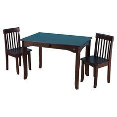 Avalon 3 Piece Table & Chair Set