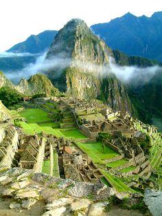 Machu Picchu, Peru. One of the seven wonders of the world.  #expediawanderlust