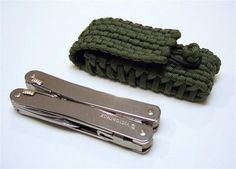 Stormdrane's Blog: Paracord Sheath/Pouch