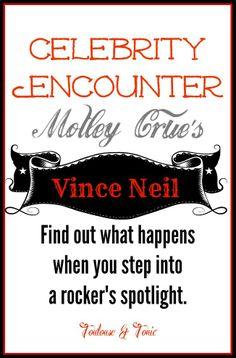 LMAO!  Don't dance in Vince Neil's spotlight during Girls! Girls! Girls! #celebrity encounters #motleycrue