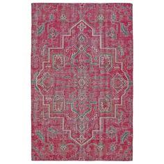 Hand-Knotted Vintage Pink Heriz Rug (9'0 x 12'0) $1405.