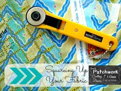 How to square up fabric. Pre-k Patchwork | Patchwork Posse #quilting101