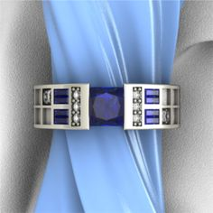Police Box Ring - Art & Gems Jewelers - High End Geek Jewelry    I know that I've pinned this before but I still WANT THIS RING! =)