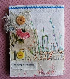 .altered art of play card box opens up home sweet home with chickens...   want to try maybe change the theme